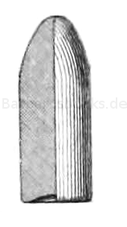 österreichisches Werndl-Geschoss M. 1877