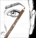 applica correttamente la matita per le sopracciglia