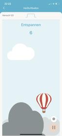 Emy Beckenbodentrainer / Hilfsmittel zum Beckenbodentraining / Appvorschau Heissluftballon
