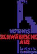 Tourismusgemeinschaft Mythos Schwäbische Alb, Landkreis Reutlingen, Logo