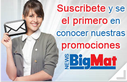 Suscribirse a newsletters