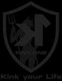 Das Wappen vom exklusiven KINK.ONE BDSM Zirkel im Rhein/Main Gebiet.