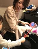 クリスマスリトミック マンツーマンレッスン どれみ音楽教室 田中由美子