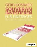 """Buchcover """"Souverän investieren für Anfänger"""""""