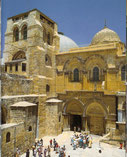 Gerusalemme - Ingresso alla basilica della Resurrezione