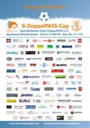 Das offizielle Partnerplakat zum 9. DoppelPASS-Cup