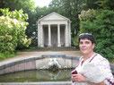 Lena im Schwetzinger Schlosspark