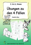 vier Fälle Deutsch, vier Fälle Grundschule, vier Fälle, vier Fälle des Nomens