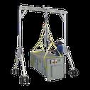 Gruas Pórtico de aluminio para levantar 700Kgs y 2TN