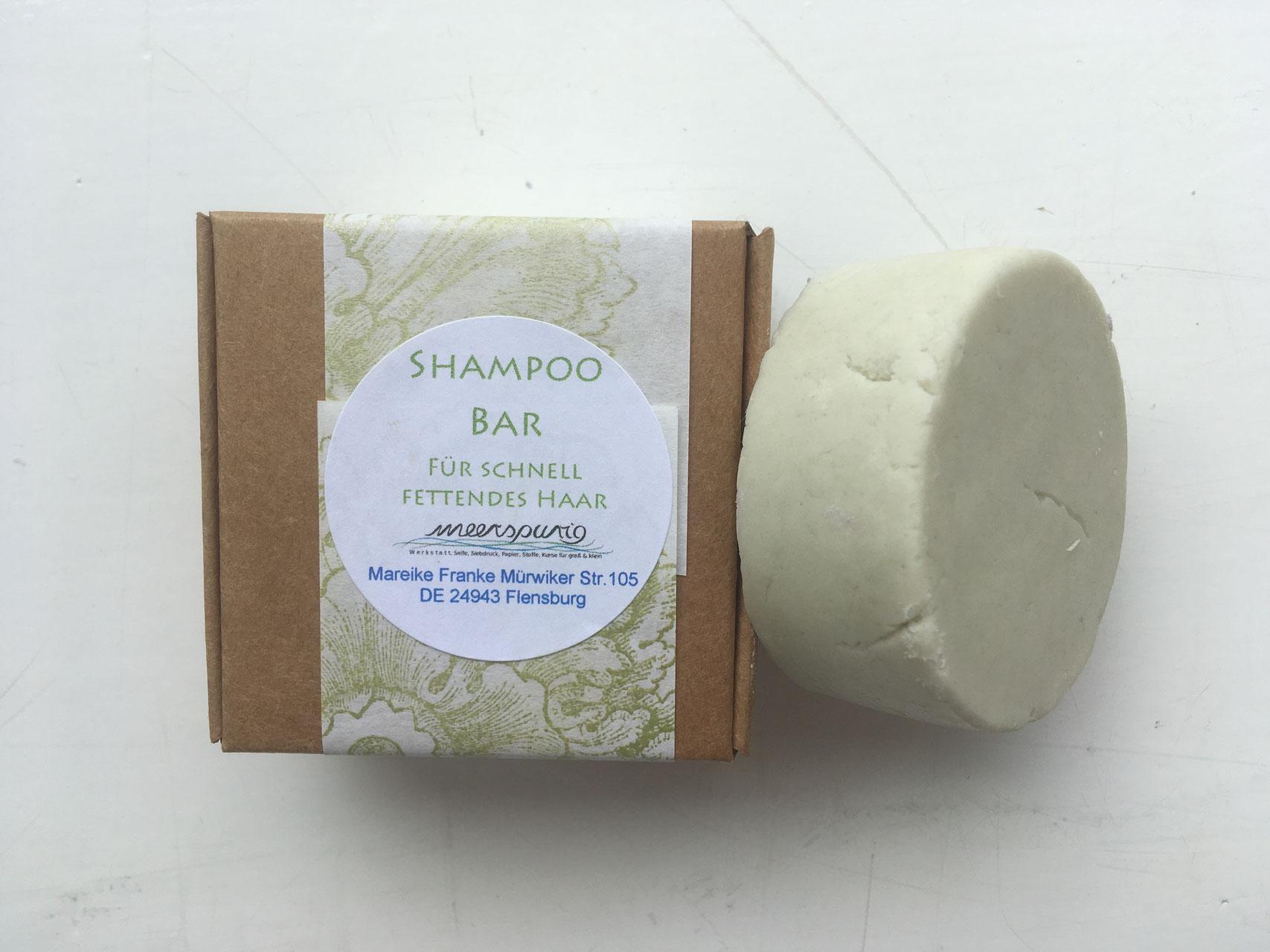 Shampoo Bars Meerspurig Handgemachte Seife Handgedruckte
