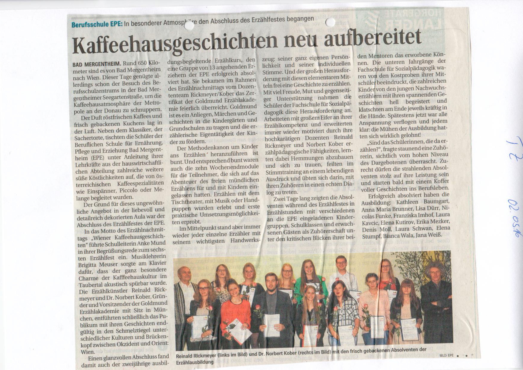 EPE Zeitung - 2. Mai 2016