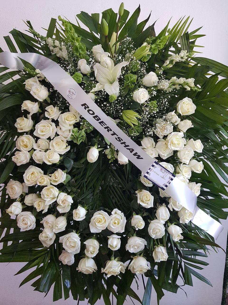 Condolenciasfunerarios Matices Diseño Floral Compra De