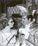 Das erste Prinzenpaar der REB