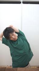 肩こりのストレッチ脇2-③