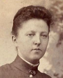 "Amanda Ella ""Ellen"" (1868-1964) married John J. GRESER"