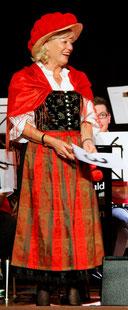 Erna Vogel als SchwarzwaldMarie des Abends