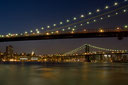 Brooklyn Bridge @ night