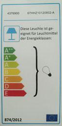 Energieeffizienz/ Leuchtmittel