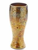 九谷焼通販 おしゃれなビアグラス ビアカップ 大 加賀のお殿様・お姫様キブン(金花詰)