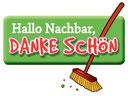 """Logo """"Hallo Nachbar, Danke schön"""""""