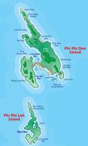 Koh Phi Phi Karte