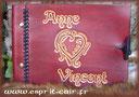 Livre d'or A5 Anne et Vincent