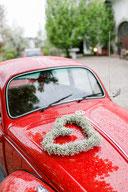 Hochzeit Autogesteck Trauung