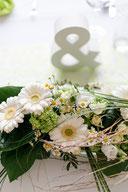 Hochzeit Tischgesteck Trauung