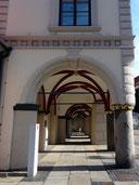 Säulenkollonade