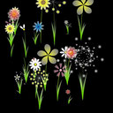 bloemenveld (1-muisklik)