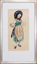 Trachtenfrau (Ostschweiz?)