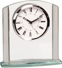 "6 1/4"" Arch Glass Clock"