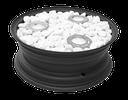 Bio-Ethanol-Kamin mit Marmorsteinen