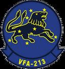 """Strike Fighter Squadron 213 (VFA-213) """"Blacklions""""."""