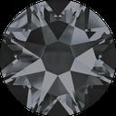 Swarovski 2078 001LUMG Crystal  Silver Night Hotfix