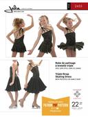Kaava Jalie 2455 taitoluistelu voimistelu tanssi