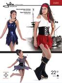 Kaava Jalie 2685 taitoluistelu voimistelu tanssi