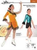 Kaava Jalie 2441 taitoluistelu voimistelu tanssi