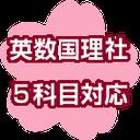 福岡県立高校入試 英数国理社5科目対応
