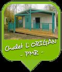 Camping Sites & Paysages  Les Saules à Cheverny - Loire Valley - Vacances au coeur du Val de Loire - Chalet L'Origan