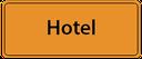 Motorradreisen Hinweistafel zu den Hotels in Miami Beach