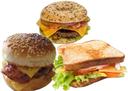 Vers les food trucks sandwiches burger