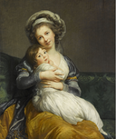 Vigée-Le Brun Elisabeth, La tendresse, 1786 / Photo RMN Grand Palais