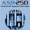 KSR-250 Krafststoff-System-Reiniger für Auto, Cabrio, PW, Camper, LKW