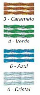 Colores de los tubos de plástico para cortinas antimoscas Venecia