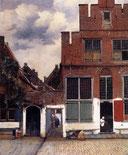 「小路」1657~58年頃 アムステルダム国立美術館