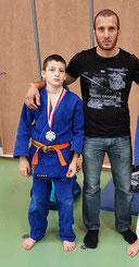 Mustafa mit seinem Vater