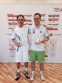 Sieger Jakunin und Finalist Berg