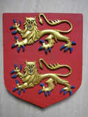 Reproduction Blason Normandie sculpté