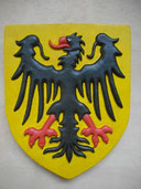 Reproduction Blason Allemagne sculpté